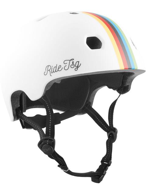TSG Meta Graphic Design Kask rowerowy biały